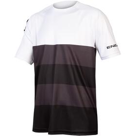 Endura SingleTrack Core Maglietta Uomo, nero/bianco